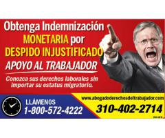 ABOGADO LABORAL EN DESPIDOS INJUSTOS#1  ☎ 1800-572-4222.