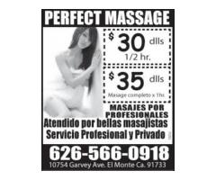 PERFECT MASSAGE (626)566-0918