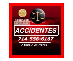 ACCIDENTES DE AUTO Y OTRO TIPO DE ACCIDENTES 714-558-6167