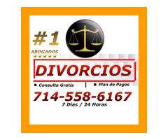 DIVORCIOS / LEY FAMILIAR PRCIOS RAZONABLES