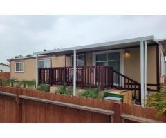 2 BEDROOMS, DOUBLE WIDE WITH LARGE YARD!