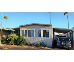 NICE MOBILE HOME IN ONTARIO 2 BEDROOM 2 BATH WITH 3 CAR PARKING