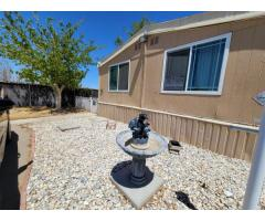 MOBILE HOME FOR SALE IN ADELANTO CA 2 BEDROOMS  AND 2.5 BATH